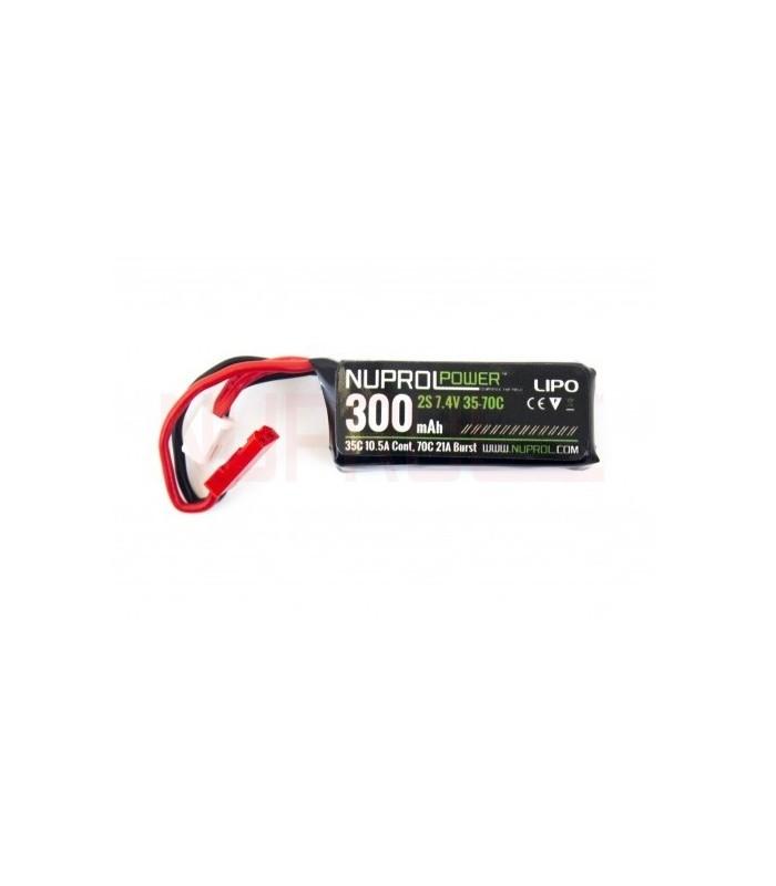 WE Li-Po 7,4V 300 mAh 35 / 70C HPA Micro