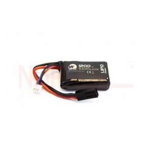 WE Li-Po 7,4V 1200 mAh 30C PEQ15 Micro