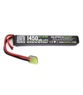 WE Li-Po 7,4V 1450 mAh 30C Stick