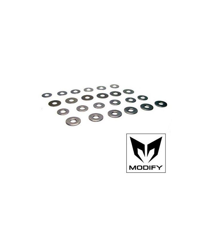 Modify Shim Set (4 types: 24pcs in total)