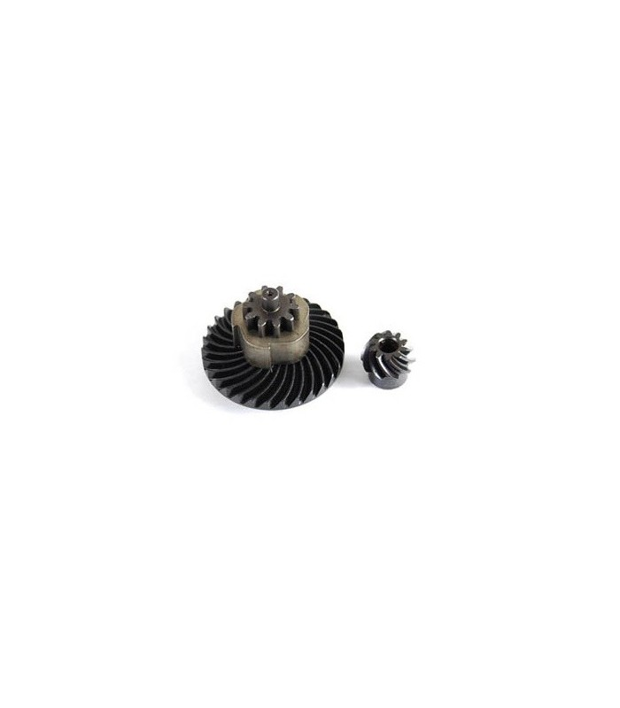 Helical bevel en pinion gear