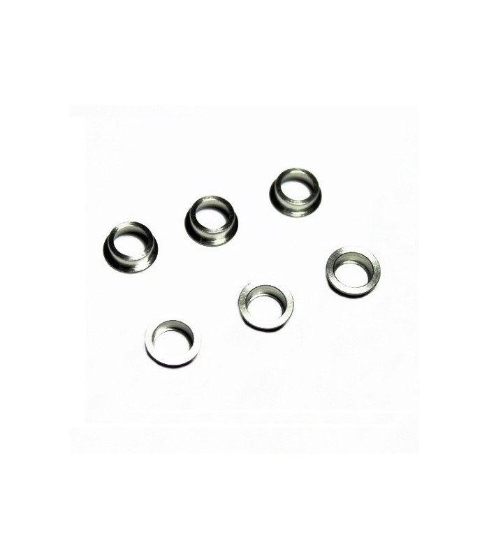 Stainless Bushing for Modular Gear Set 6mm (6 pcs)