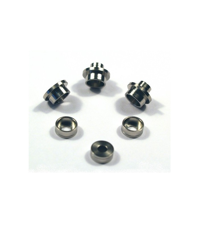 Stainless Bushing for Modular Gear Set 6mm ~SMOOTH