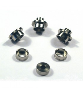 Stainless Bushing for Modular Gear Set 7mm ~SMOOTH