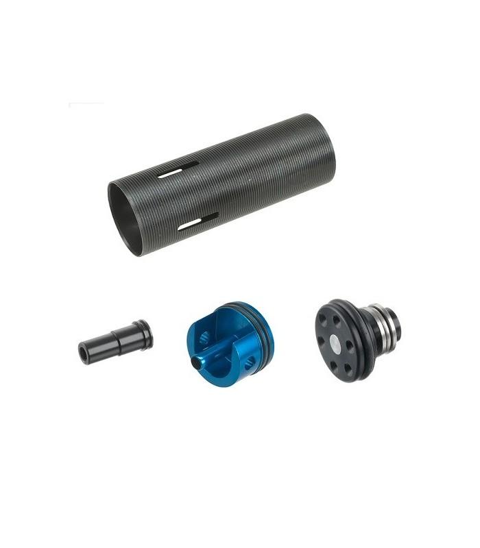 Enhanced cilinder set voor MP5 type replica's (alu)