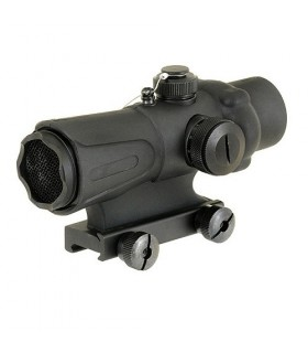 Rubberized Red Dot met Flash Kill