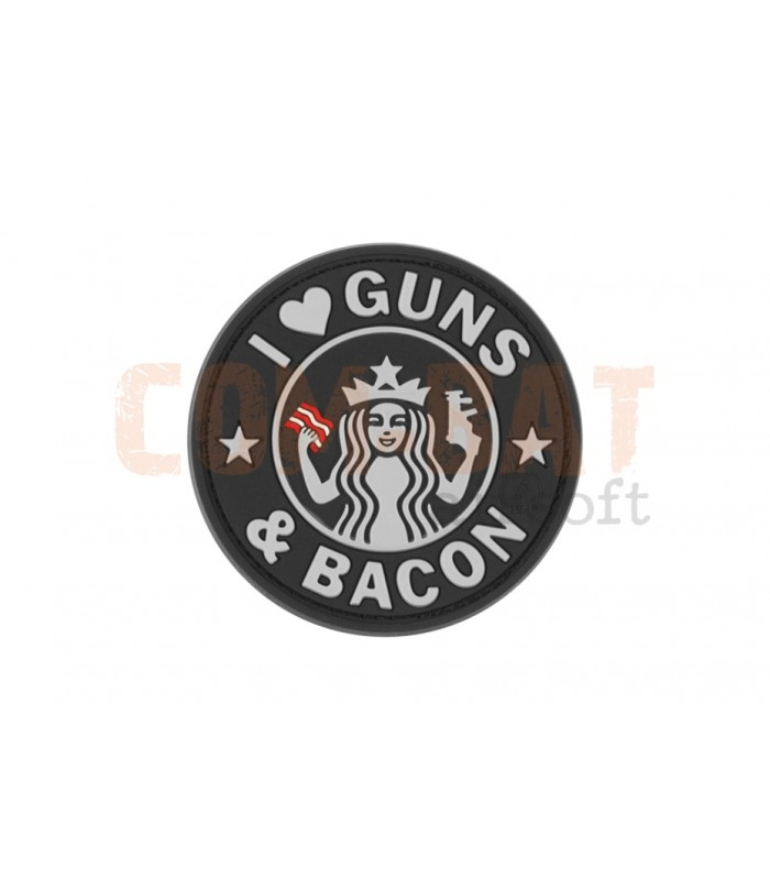 I love guns and bacon patch