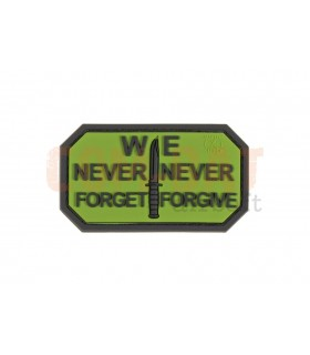 Never Forget Rubber Patch