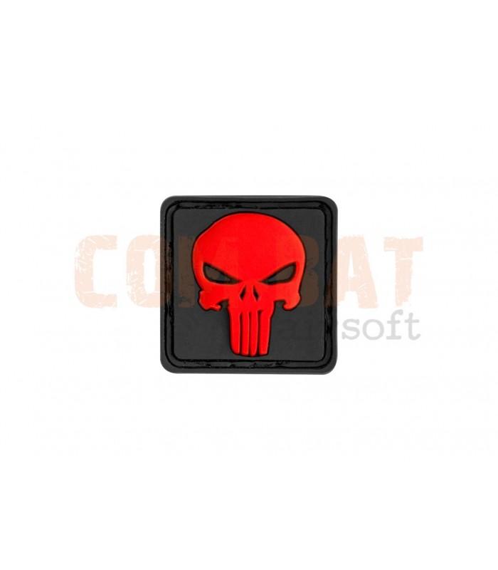 Punisher rood zwart (30 x 30)