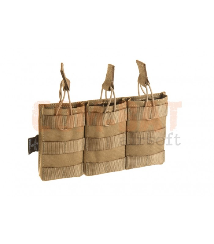 5.56 Triple Direct Action Mag Pouch TAN