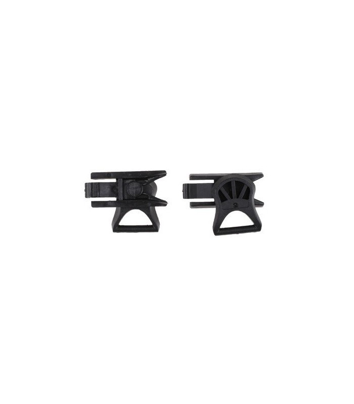 Goggle Swivel clips voor Fast Helmen Zwart