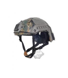 Maritieme Helm Digital Woodland (L/XL)