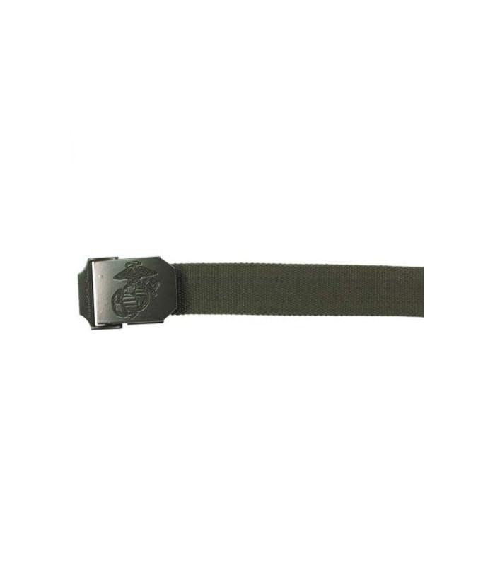 Riem USMC stijl 35mm OD met metalen sluiting