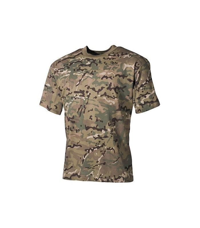 T-shirt US style Multi cam