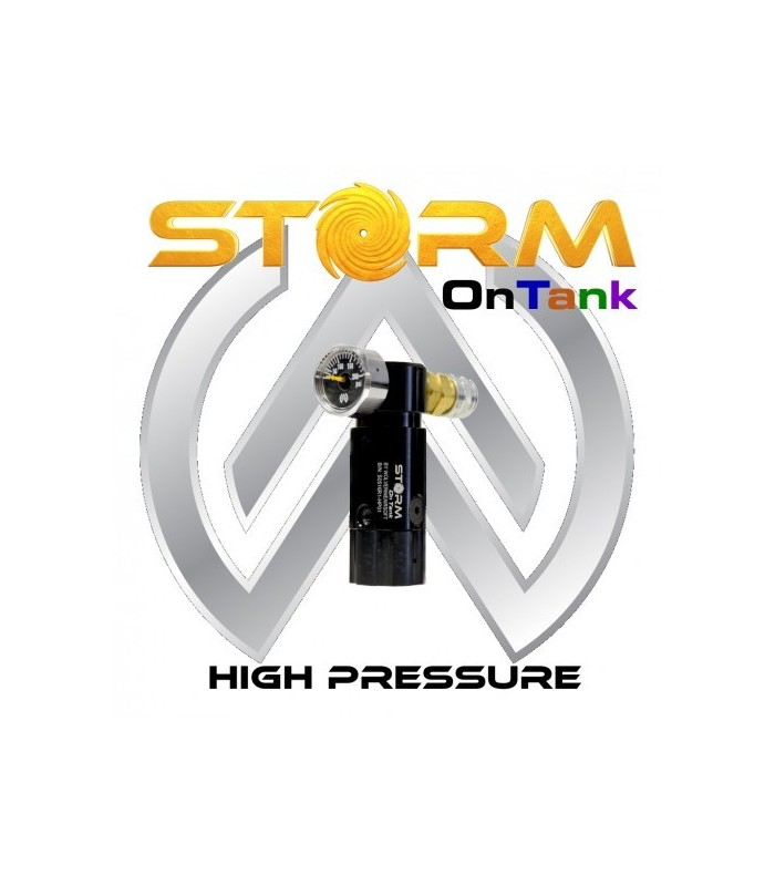 Storm On tank Regulator High Pressure met line