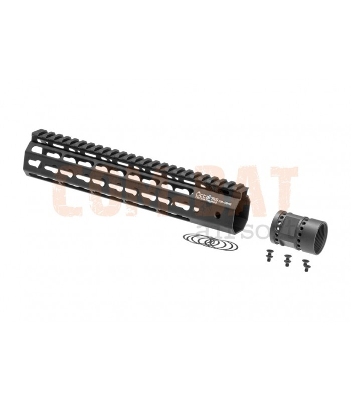 Octaarms 10 Inch Keymod Rail Black