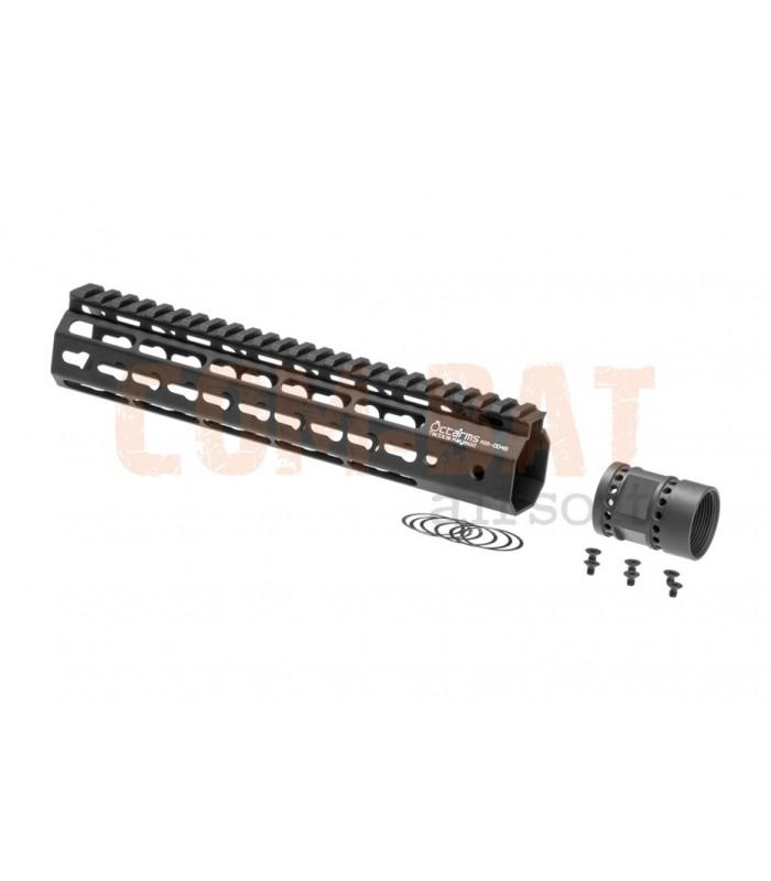 Octaarms 10 Inch Keymod Rail Black