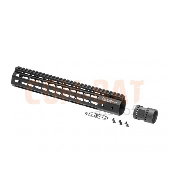 Octaarms 12 Inch Keymod Rail Black