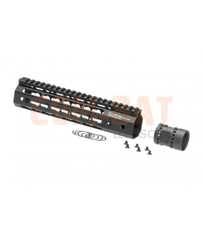 Octaarms 9 Inch Keymod Rail Black