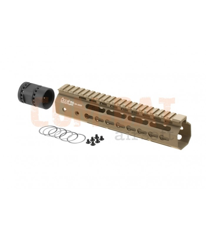 Octaarms 9 Inch Keymod Rail Tan