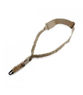 Warrior A.S. Single Point Bungee Sling H&K Hook Coyote