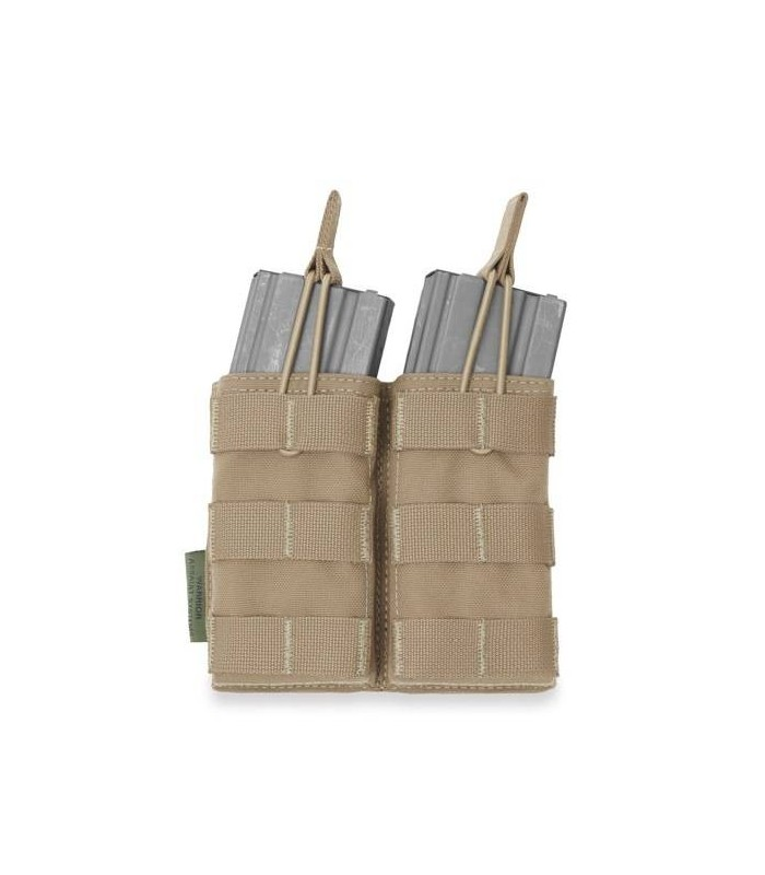 Warrior A.S. Double MOLLE Open 556 Mag/Bungee Retention Coyote