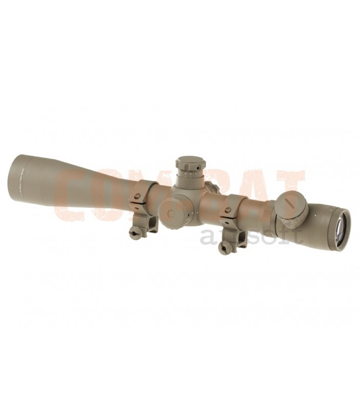 3.5-10x40E-SF Sniper Rifle Scope Desert