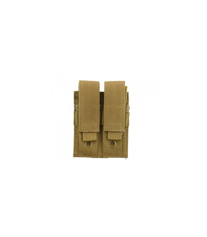Pistol Pouch Double TAN