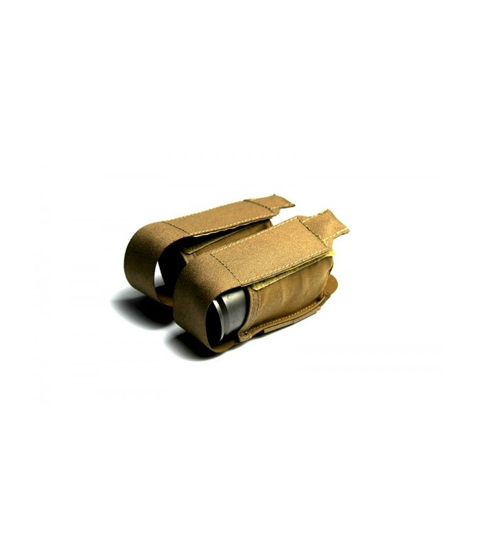Double 40mm Grenade/Smoke Pouch TAN