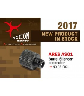Action Army Ares Striker AS01 Silencer adapter