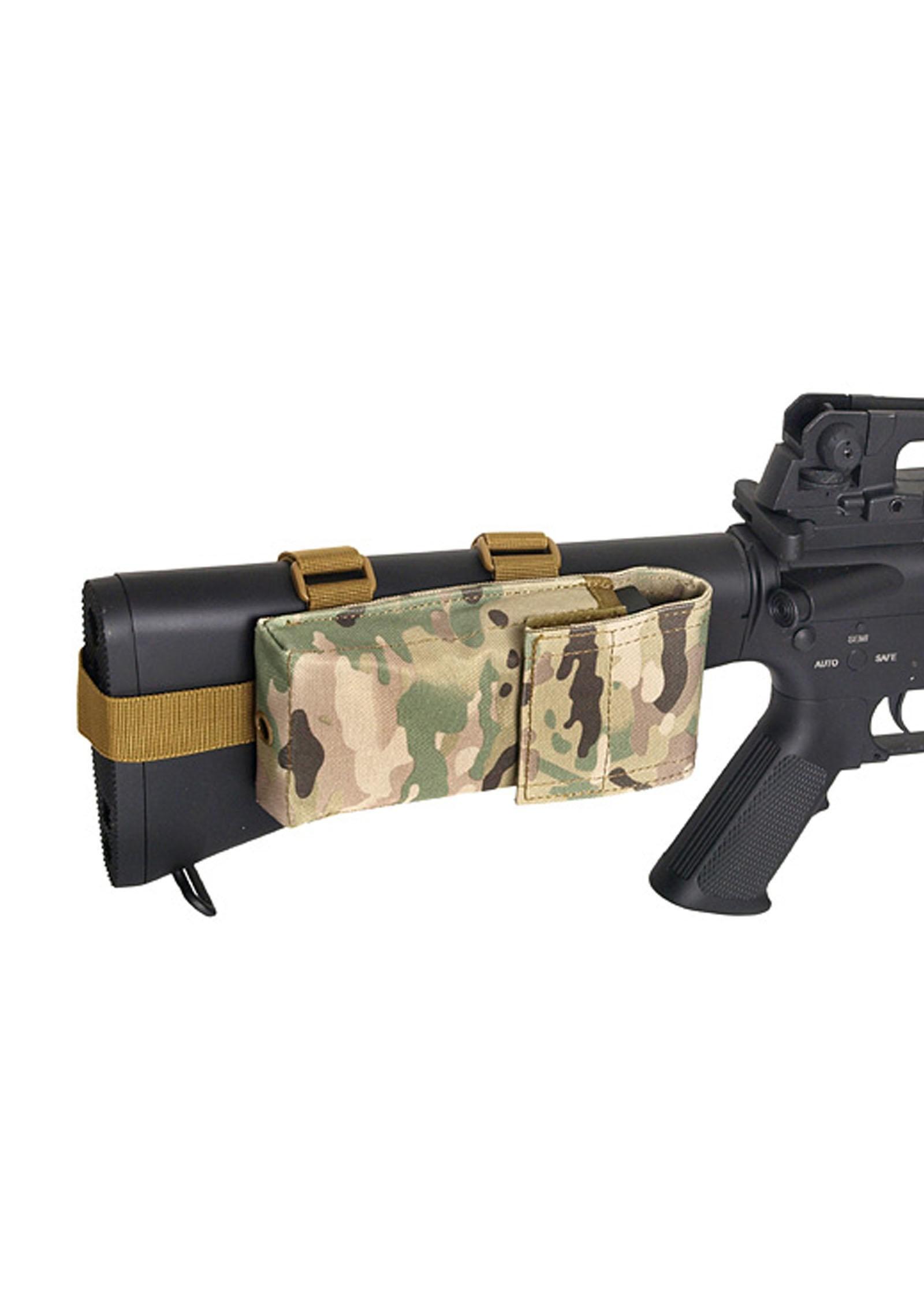 Stock Pouch Voor M4m15m16 Mc Com Bat Airsoft