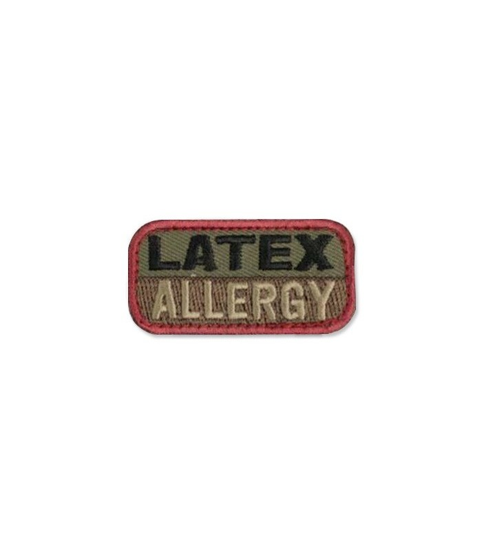 Latex Allergy Patch (forest)