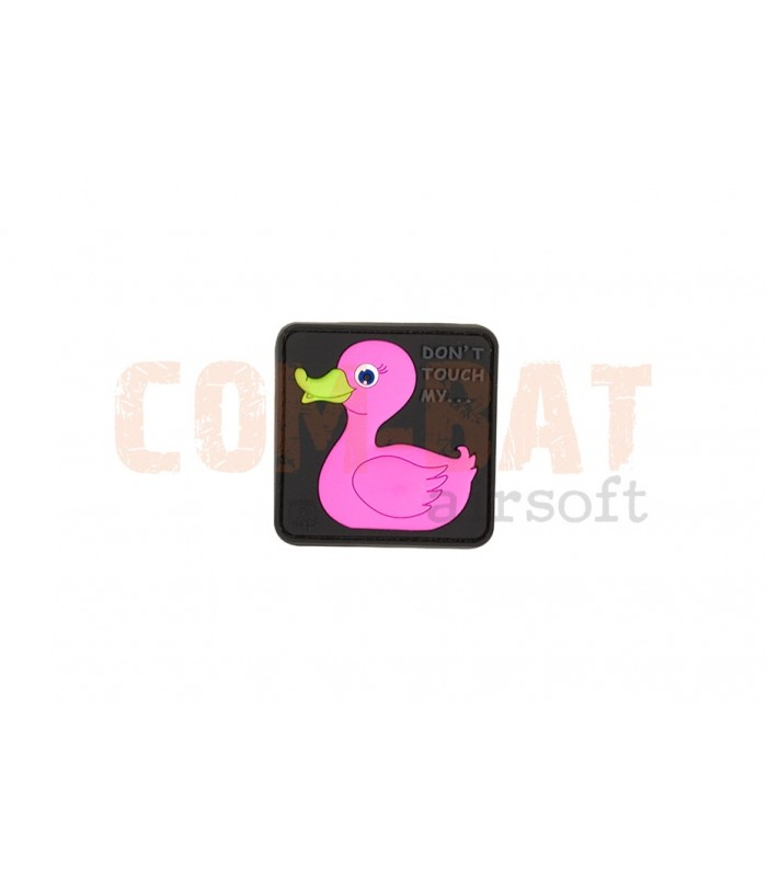 Tactical Rubber Duck Pink Patch