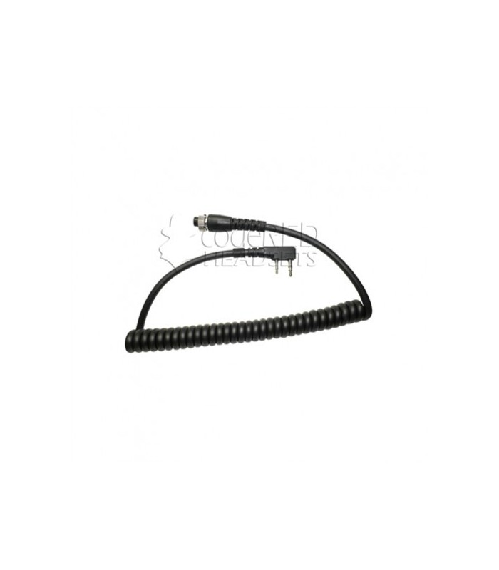Code Red Headsets MRC-K Replacement Modular Cord for 2-pin Kenwood/Baofeng