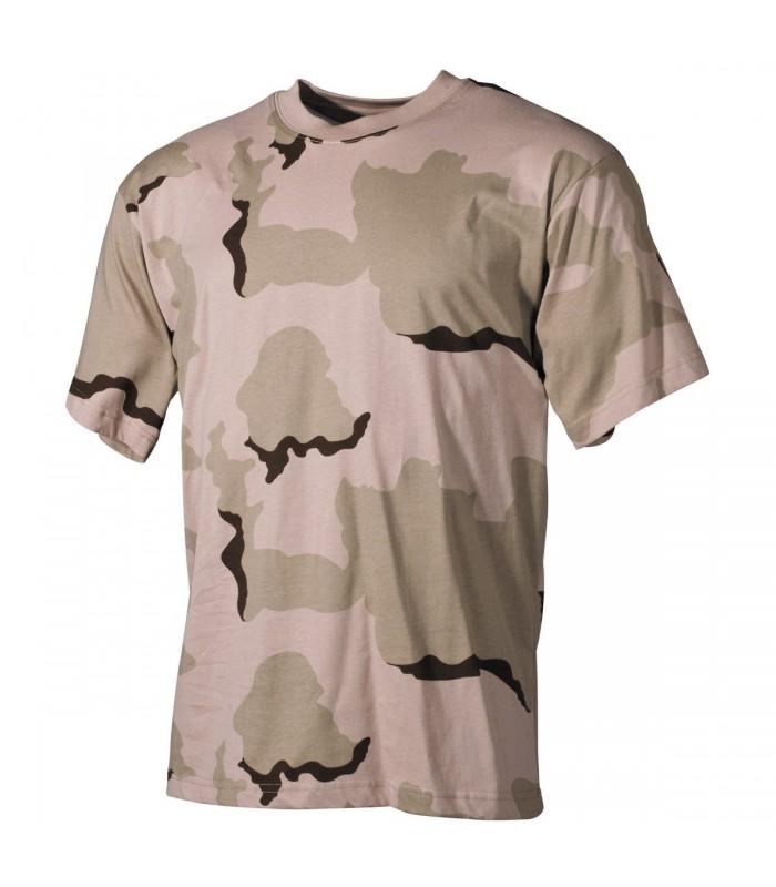 T-shirt US style 3 Color Desert