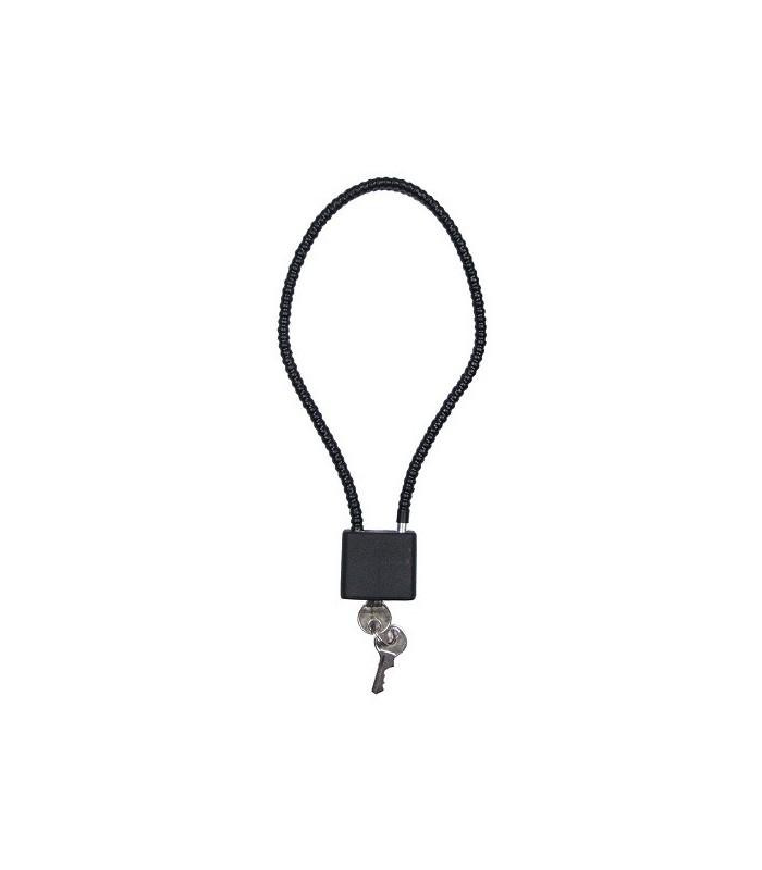 Kabelslot 36cm 2 sleutels