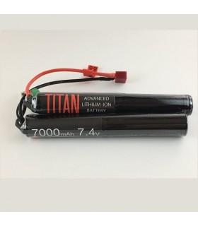 Titan 7000mah 7.4v Nunchuck Deans