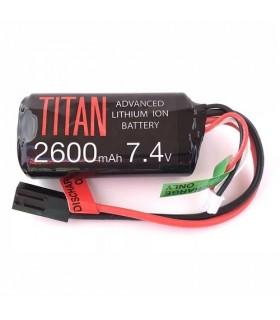 Titan 2600mah 7.4v Stick Tamiya