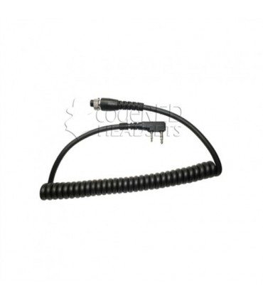 Code Red Headsets MRC-K Replacement Modular Cord for 2-pin midland