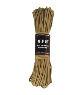 Paracord TAN 4mm 30mtr