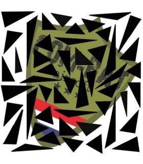 Triangle Paint Stencil 28x30cm