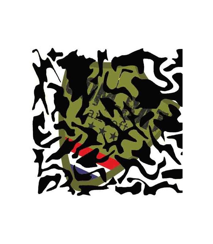Woodland Paint Stencil 28x28cm