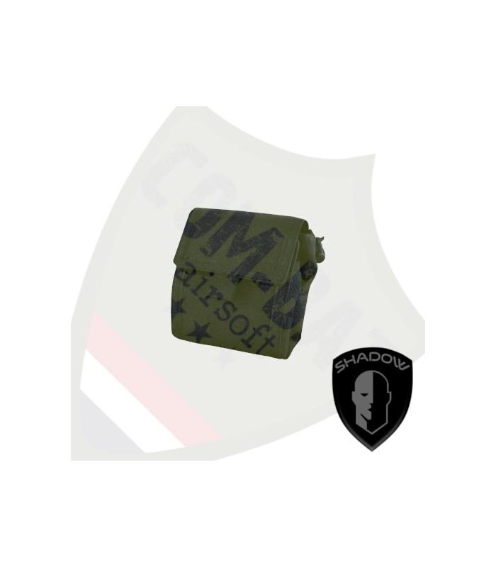 Foldable Dump Pouch Black